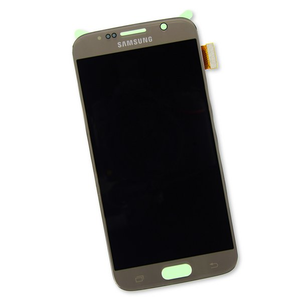 Galaxy S6 Screen / New / Gold / Part Only