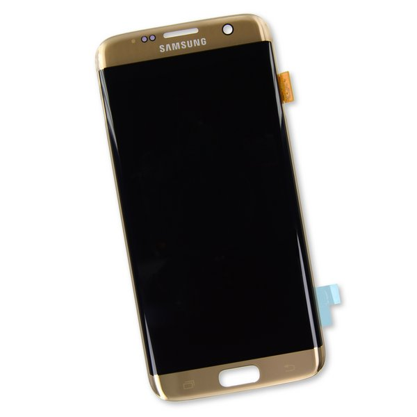 Galaxy S7 Edge Screen / Gold / Part Only