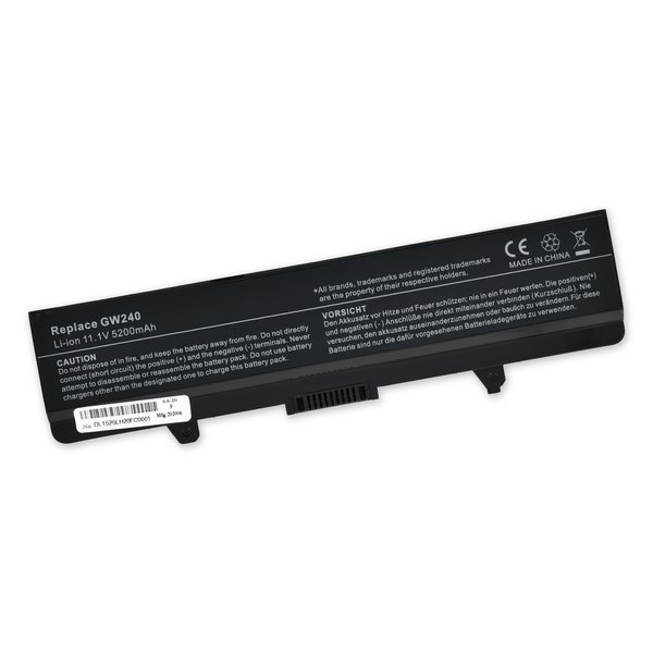 Dell Inspiron 1545, 1525, 1526 Battery (312-0625)