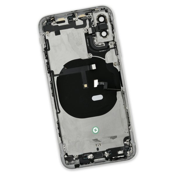 iPhone XS OEM Rear Case / A-Stock / Silver
