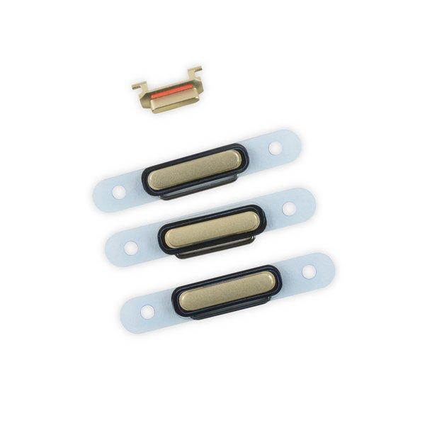 iPhone 6 Plus Case Button Set / Gold
