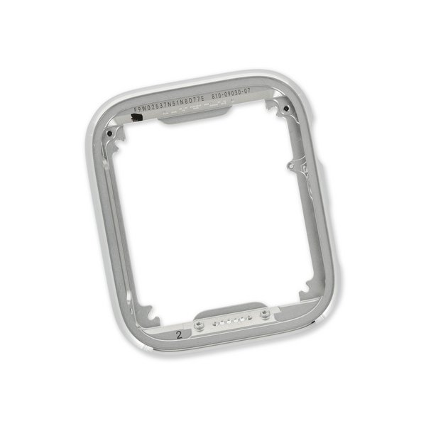 Apple Watch (44 mm Series 6) Frame with Button / New / Silver