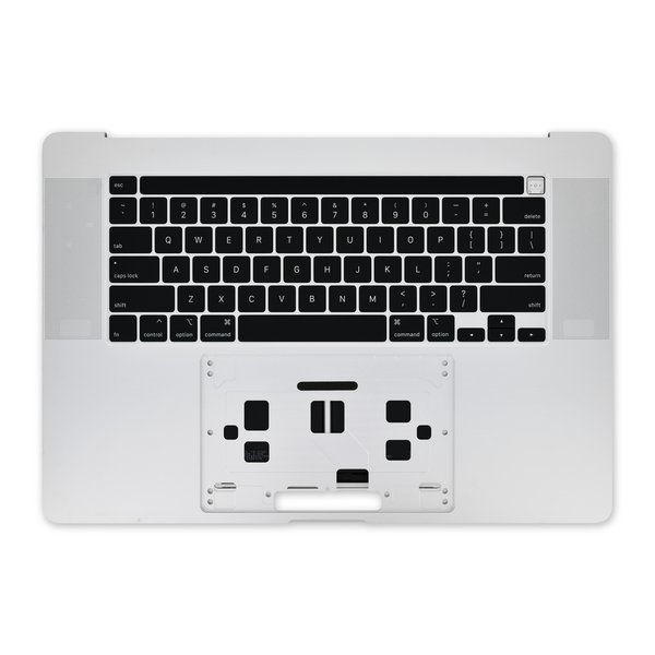 """MacBook Pro 16"""" (2019) Upper Case Assembly / A-Stock / Silver"""