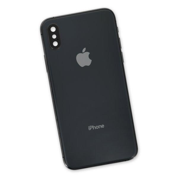 iPhone X OEM Rear Case / A-Stock / Black