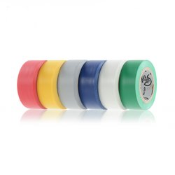 Electrical Tape in 6 Assorted Colors