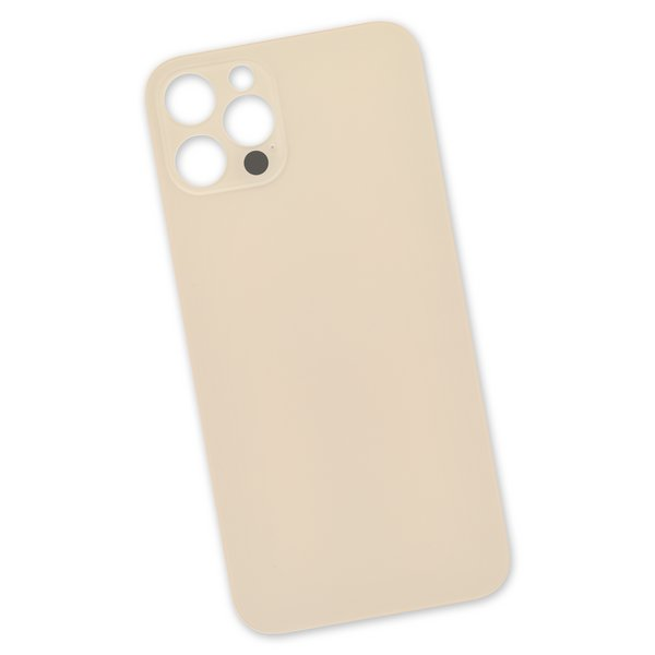 iPhone 12 Pro Aftermarket Blank Rear Glass Panel / Gold