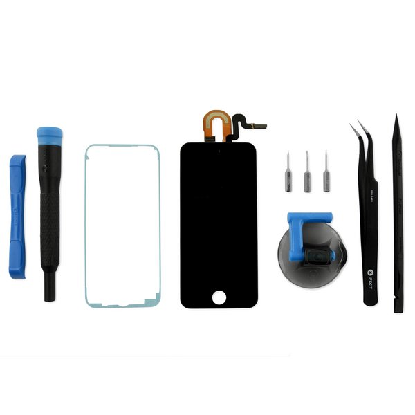 iPod touch (5th Gen) Screen / Fix Kit / Black / New