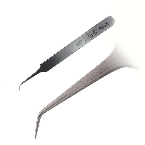 Hakko 5B SA Curved Tweezers