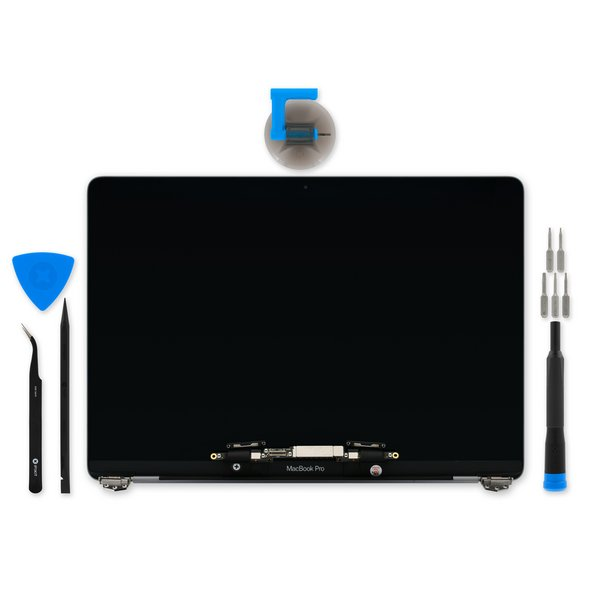 "MacBook Pro 13"" Retina (Late 2016-2017) Display Assembly / Premium / Fix Kit / Dark Gray"