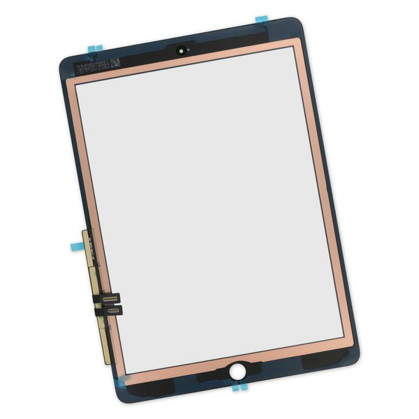 iPad 6 Screen Digitizer / Part Only / Black / With Adhesive