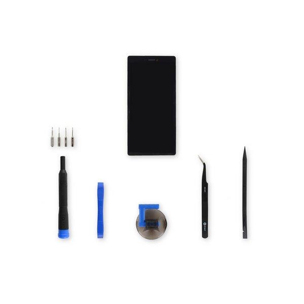 Huawei P8 Screen / Black / Fix Kit