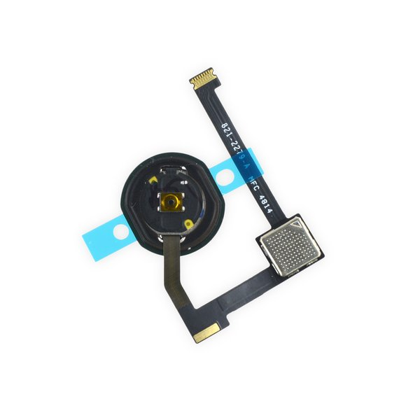 iPad Air 2 Home Button and Gasket Assembly / Silver