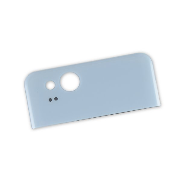 Google Pixel 2 Upper Rear Glass Panel / Blue