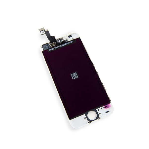 iPhone 5s LCD and Digitizer / New, Premium / Part Only / White