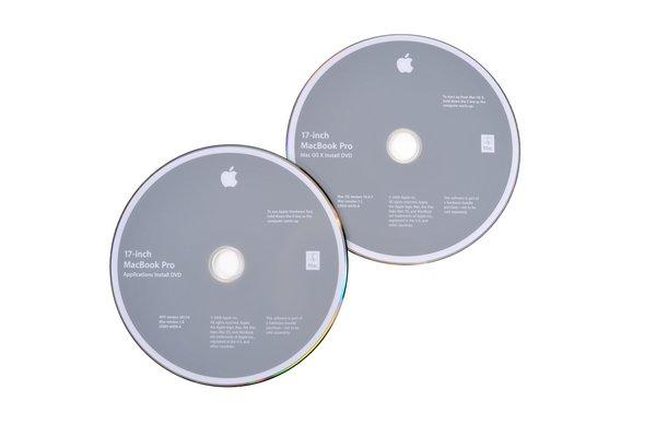"""MacBook Pro 17"""" Unibody (Mid 2009) Restore DVDs"""