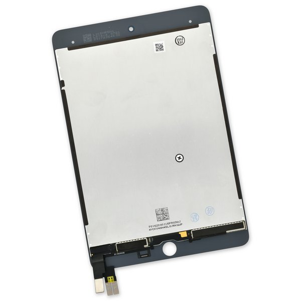 iPad mini 5 Screen / New / Part Only / White / Without Adhesive