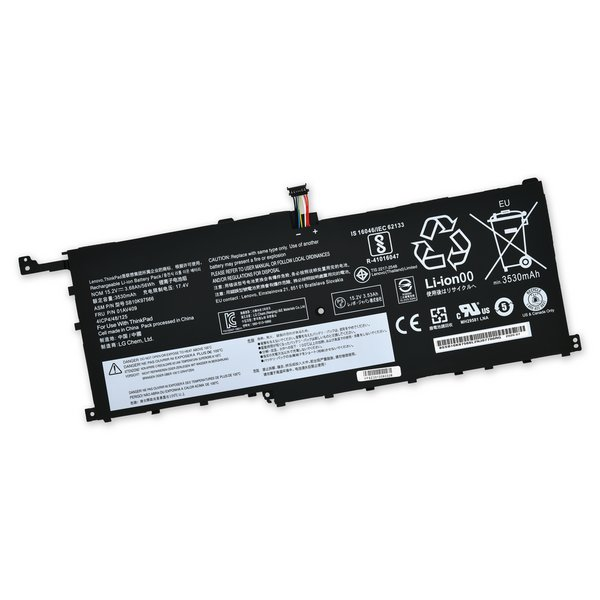 Lenovo ThinkPad X1 Yoga 1st Gen and X1 Carbon 4th Gen 56Wh Battery / Part Only