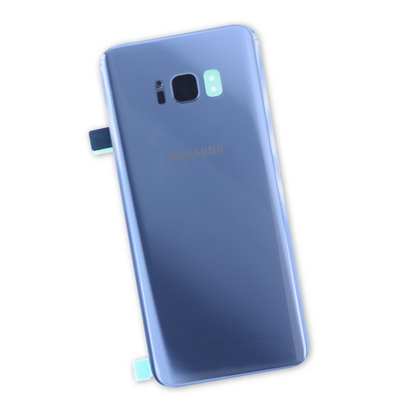 Galaxy S8+ Rear Glass Panel/Cover - Original / Blue / Part Only