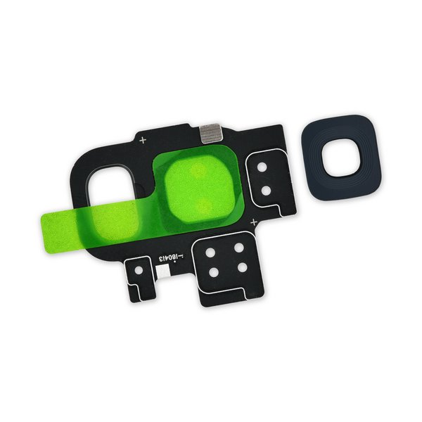 Galaxy S9 Rear Camera Bezel & Lens Cover / Black