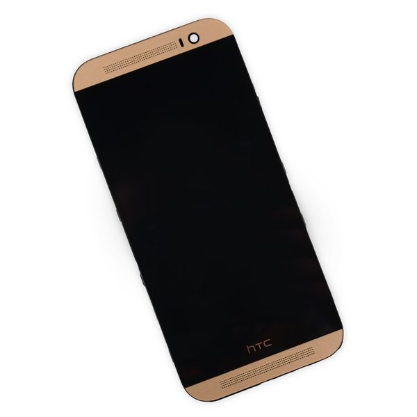 HTC One M8 Screen / Gold / A-Stock