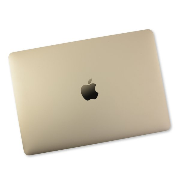 """MacBook 12"""" Retina (Early 2015-2017) Display Assembly / A-Stock / Gold"""