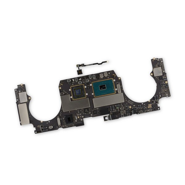 """MacBook Pro 15"""" Retina (Late 2016) 2.6 GHz Logic Board, Radeon Pro 450, with Paired Touch ID Sensor / 256 GB SSD"""