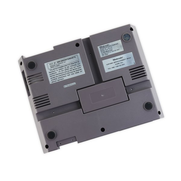 Nintendo NES-001 Bottom Case