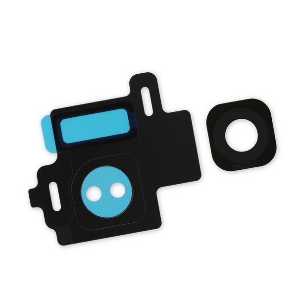 Galaxy S8 Rear Camera Bezel & Lens Cover / Black / Part Only