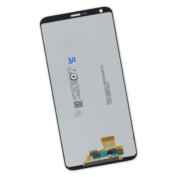LG G6 LCD and Digitizer / Silver / Part Only