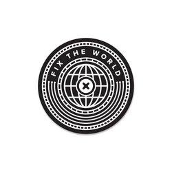 Fix the World Sticker / Black