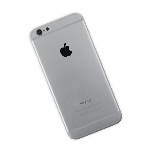 iPhone 6 OEM Rear Case / A-Stock / Silver