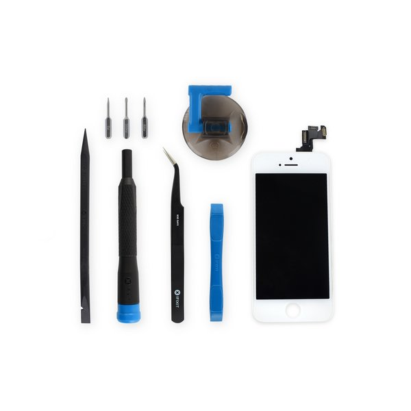 iPhone 5s Screen / New / Fix Kit / White