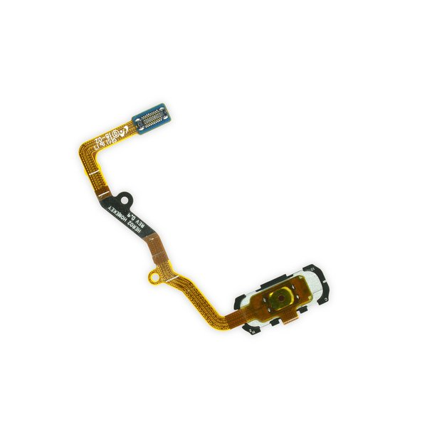 Galaxy S7 Edge Home Button and Cable Assembly / Gold
