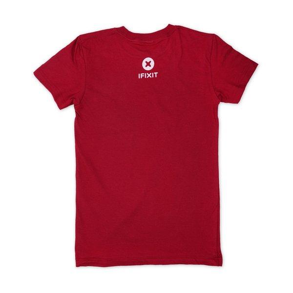 Never Take Broken T-Shirt / Women's Small / Cranberry