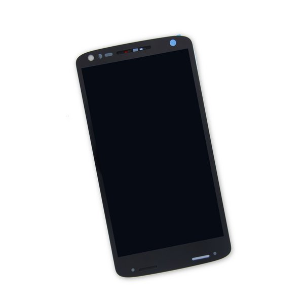 Droid Turbo 2 Screen / Black / Part Only