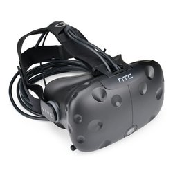HTC Vive Headset, Strap, and Cable Assembly