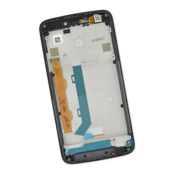 Moto C Plus Screen / Black / Part Only