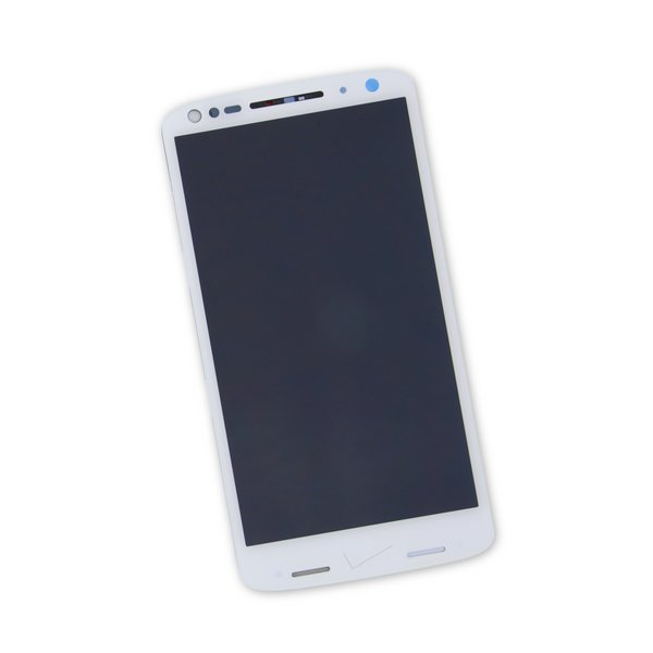 Droid Turbo 2 Screen / White / Part Only