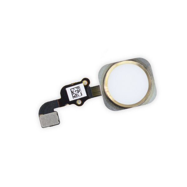 iPhone 6s Home Button Assembly / New / Gold / Part Only