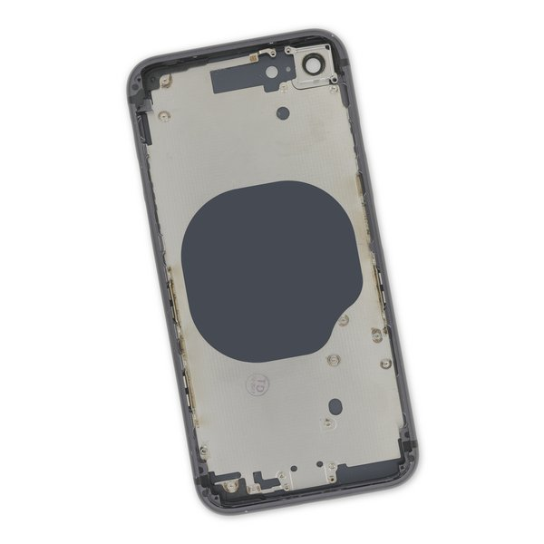 iPhone 8 Aftermarket Blank Rear Case / Black