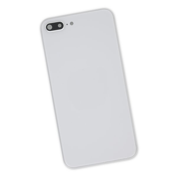 iPhone 8 Plus Aftermarket Blank Rear Case / Silver