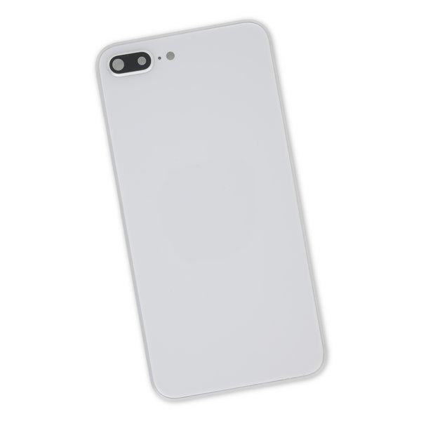 iPhone 8 Plus Aftermarket Blank Rear Case / Silver