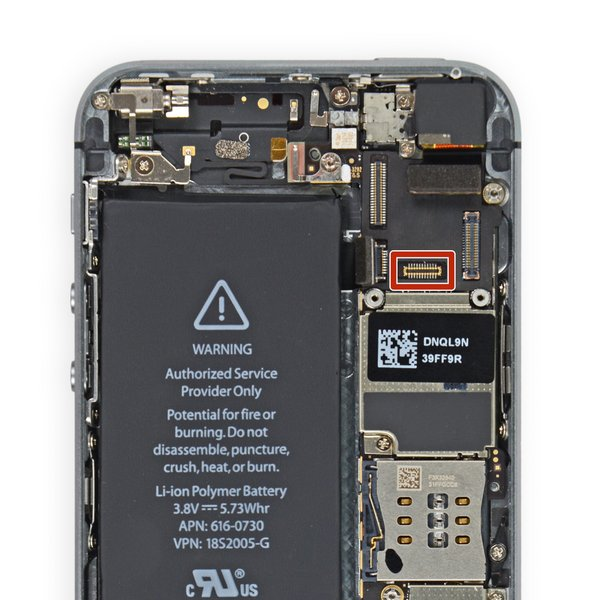 iPhone 5s LCD FPC Connector (J5)