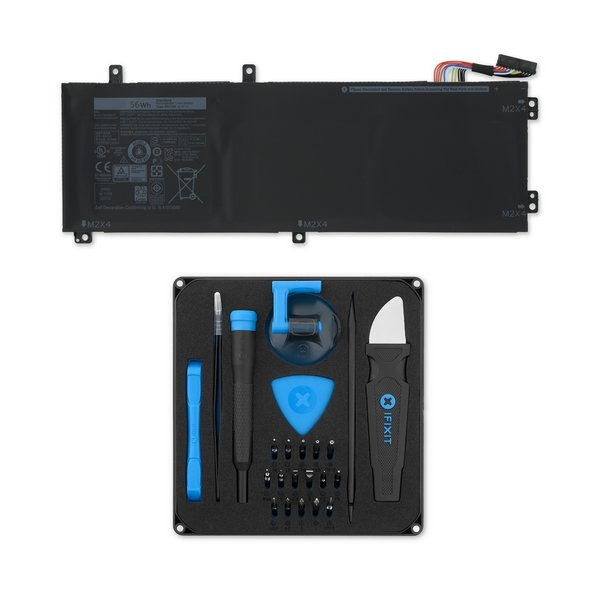 Dell XPS 15 9550 and 5510 Precision 56 Wh Battery / Fix Kit