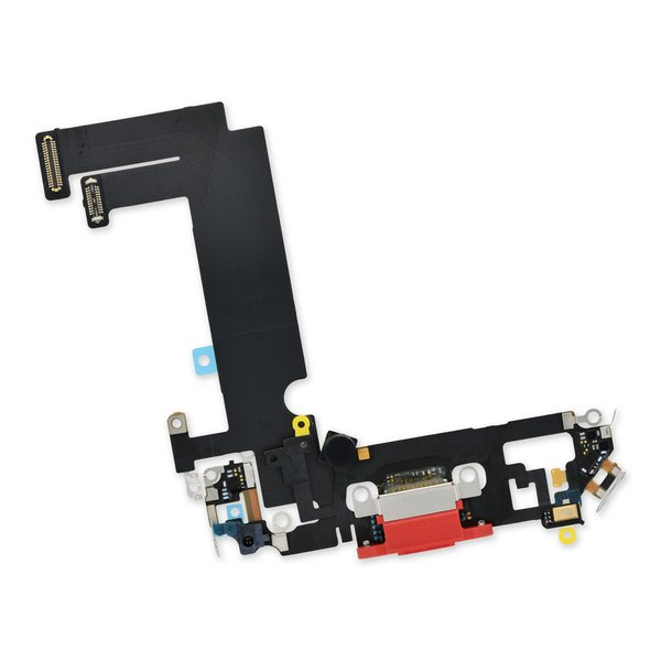 iPhone 12 mini Lightning Connector Assembly / Red