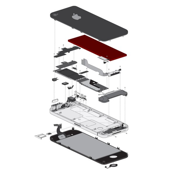 iPhone 4 Battery / Part Only