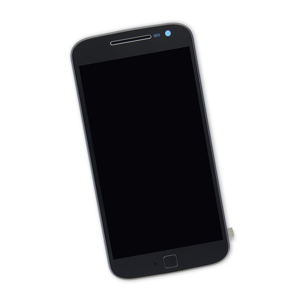 Moto G4 Plus Screen / Black / Part Only