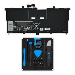 Dell XPS 13 9365 Battery / Fix Kit