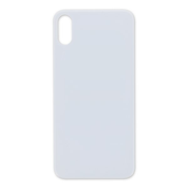 iPhone X Aftermarket Blank Rear Glass Panel / White
