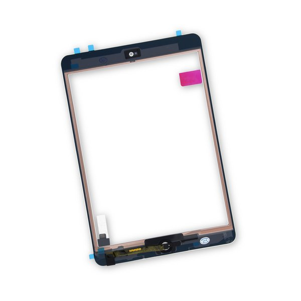 iPad mini 1/2 Screen Digitizer / New / Part Only / White / With Adhesive
